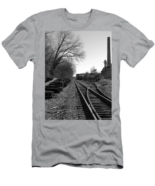 Railroad Siding Men's T-Shirt (Athletic Fit)