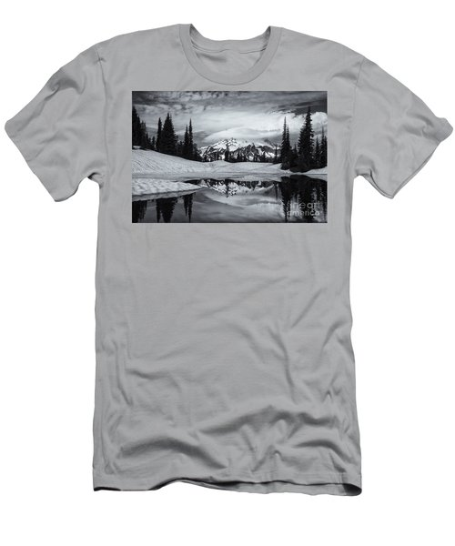 Rainier Reflections Men's T-Shirt (Athletic Fit)