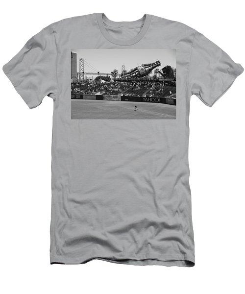 Raking The Lawn Men's T-Shirt (Athletic Fit)