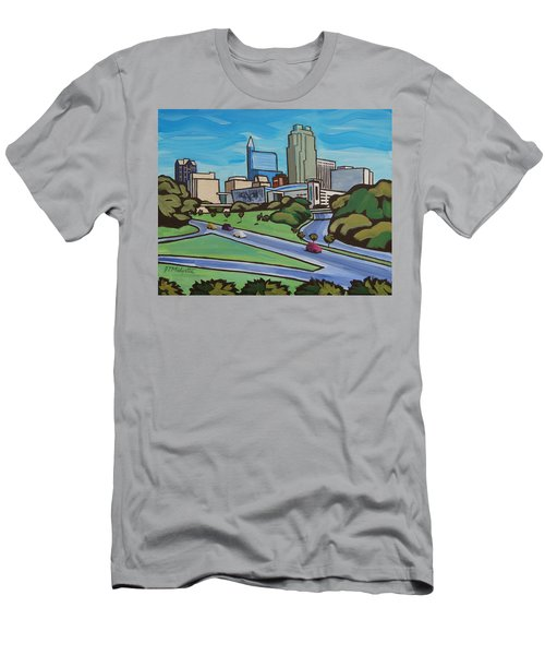 Raleigh Skyline 2 Men's T-Shirt (Athletic Fit)