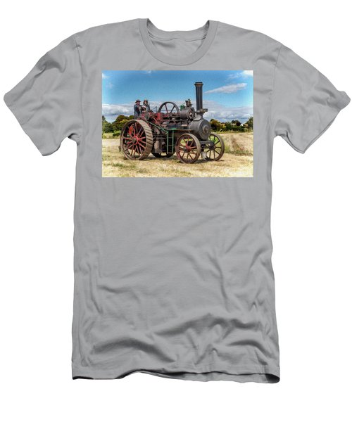 Ransomes Steam Engine Men's T-Shirt (Athletic Fit)