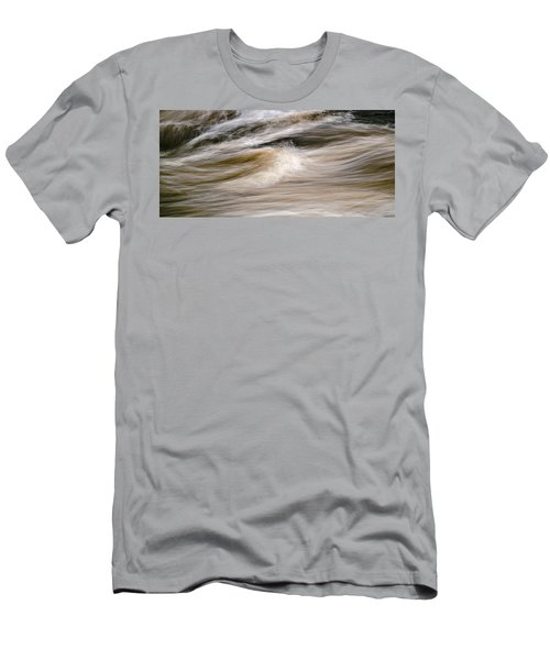 Men's T-Shirt (Slim Fit) featuring the photograph Rapids by Marty Saccone
