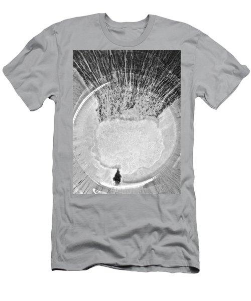 Rasta Man Blackwhite  Men's T-Shirt (Athletic Fit)