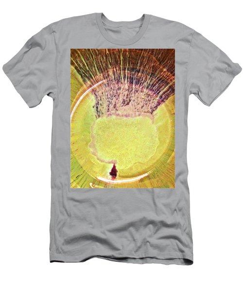 Rasta Man Bronzegold  Men's T-Shirt (Athletic Fit)