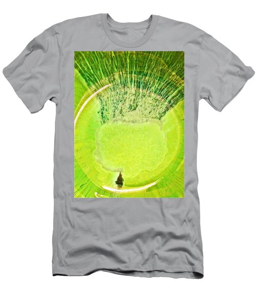 Rasta Man Limegreen Men's T-Shirt (Athletic Fit)