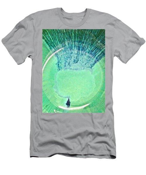 Rasta Man Tealgreen Men's T-Shirt (Athletic Fit)