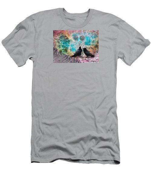 Crow Whispers In The Nowhere Men's T-Shirt (Athletic Fit)
