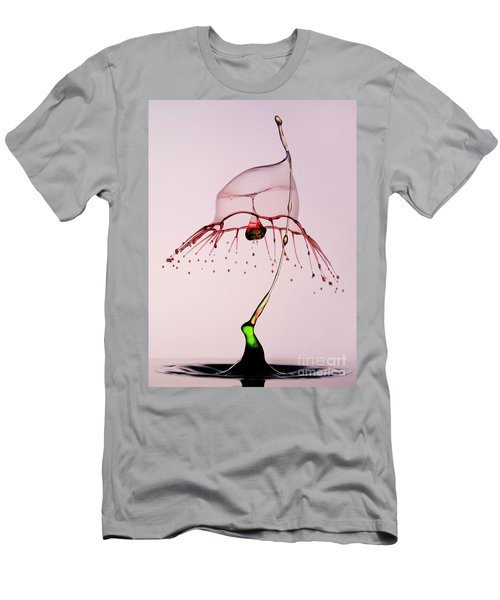 Men's T-Shirt (Athletic Fit) featuring the photograph Red And Green by Jaroslaw Blaminsky