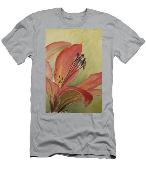 Red Lily Men's T-Shirt (Athletic Fit)