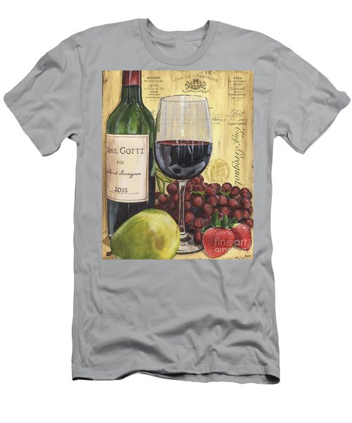 Red Wine And Pear Men's T-Shirt (Athletic Fit)