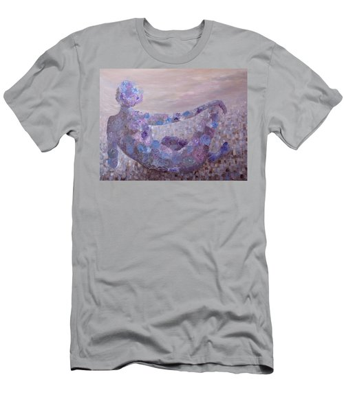 Reflecting Men's T-Shirt (Slim Fit) by Joanne Smoley