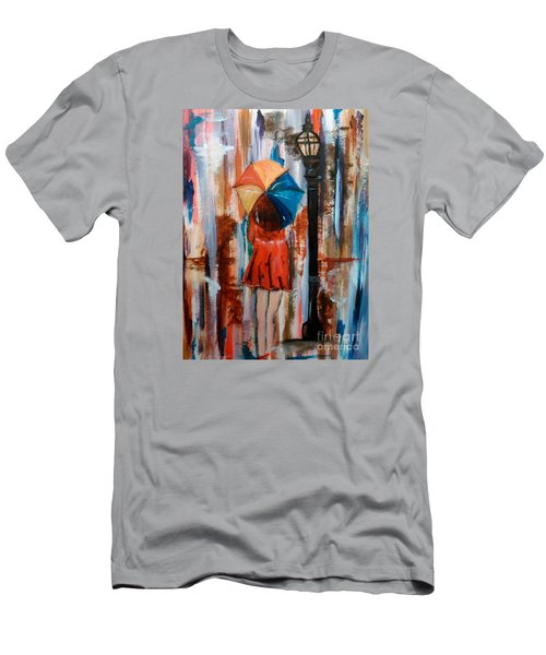 Reflections  Men's T-Shirt (Slim Fit) by Lori  Lovetere