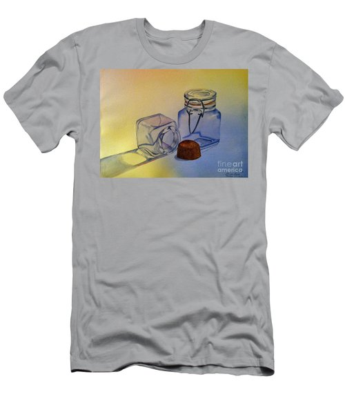 Reflective Still Life Jars Men's T-Shirt (Slim Fit) by Brenda Brown