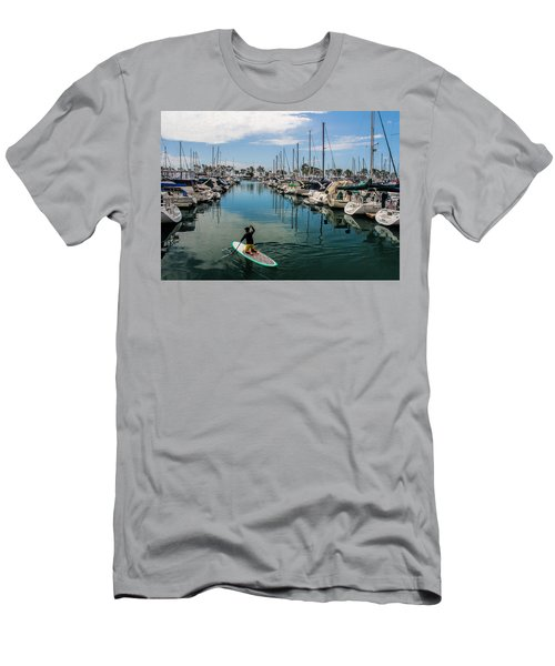 Relaxing Day Men's T-Shirt (Slim Fit) by Tammy Espino