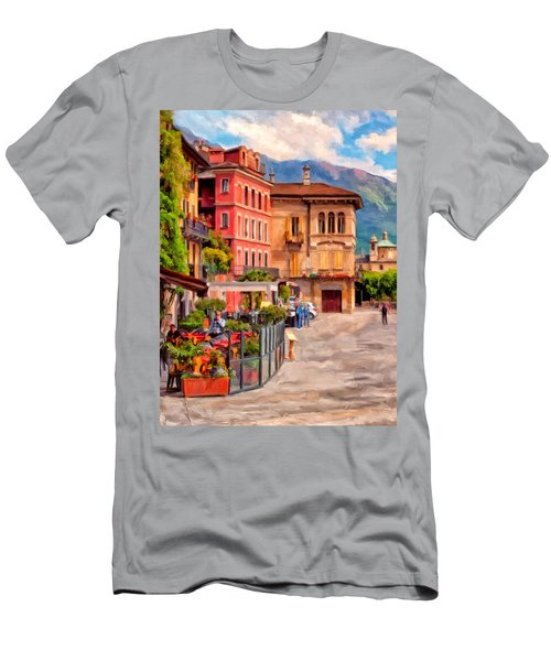 Relaxing In Baveno Men's T-Shirt (Athletic Fit)
