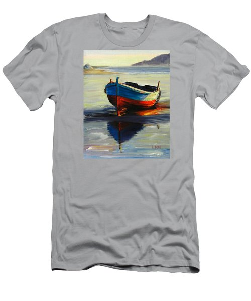 Resting, Peru Impression Men's T-Shirt (Athletic Fit)