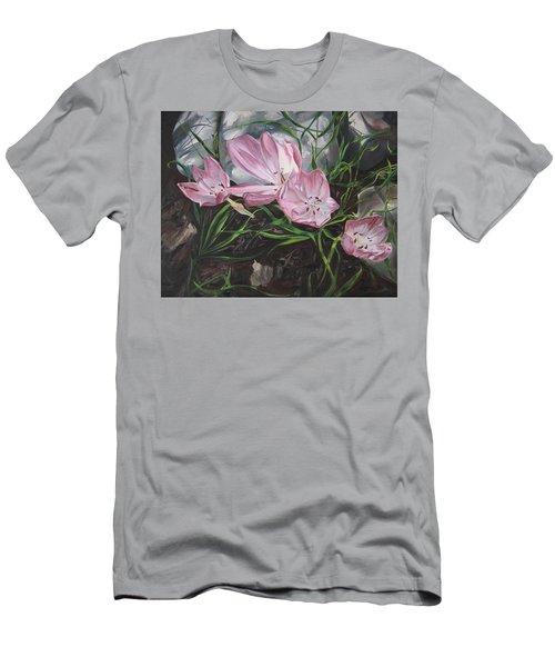 Resurrection Lilies Men's T-Shirt (Athletic Fit)