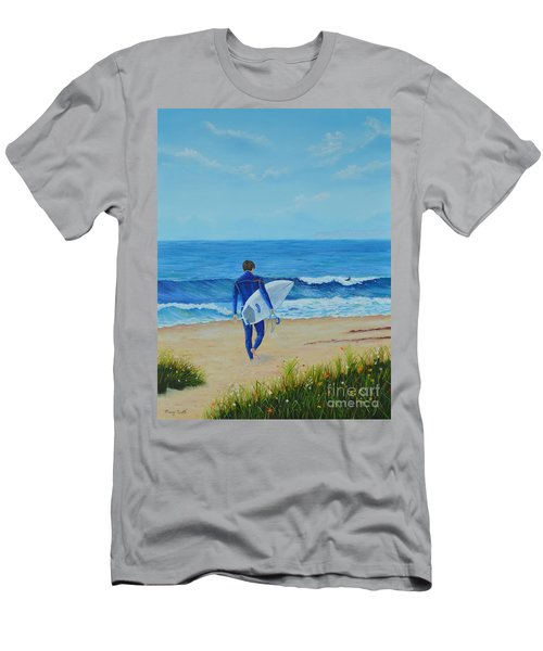 Returning To The Waves Men's T-Shirt (Athletic Fit)
