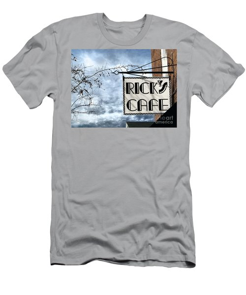 Ricks Cafe Men's T-Shirt (Athletic Fit)