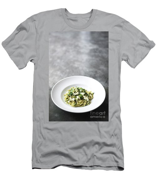 Ricotta And Herb Pasta Men's T-Shirt (Athletic Fit)
