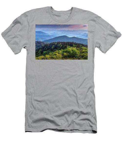 Ridges At Sunset Men's T-Shirt (Athletic Fit)