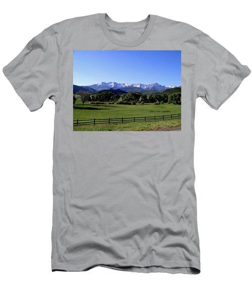 Ridgeway Colorado Men's T-Shirt (Athletic Fit)