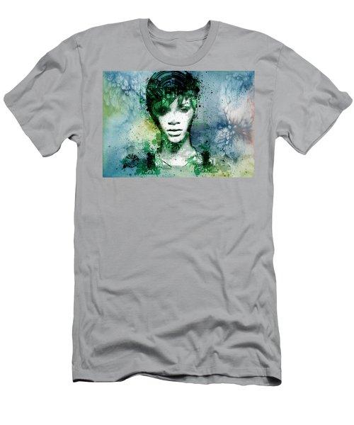 Rihanna 4 Men's T-Shirt (Athletic Fit)