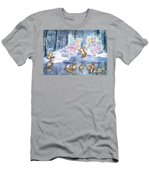 Rink In The Forest Men's T-Shirt (Athletic Fit)