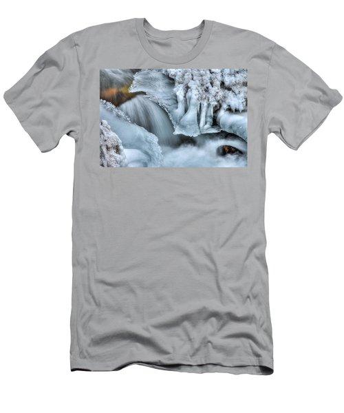 River Ice Men's T-Shirt (Athletic Fit)