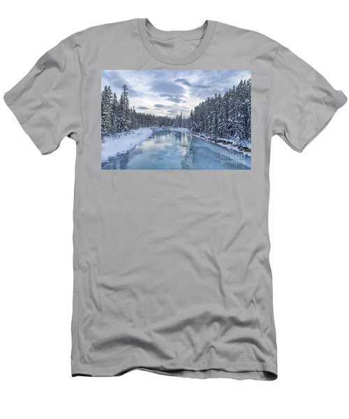 River Of Ice Men's T-Shirt (Athletic Fit)
