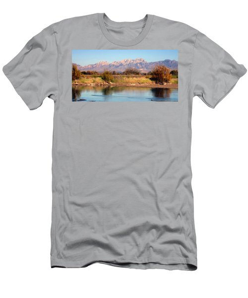 River View Mesilla Panorama Men's T-Shirt (Athletic Fit)
