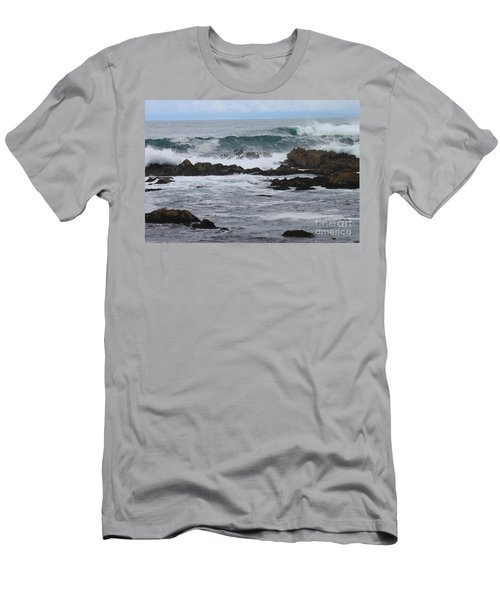 Roaring Sea Men's T-Shirt (Athletic Fit)