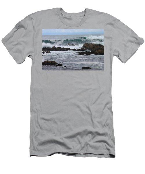 Roaring Sea Men's T-Shirt (Athletic Fit)