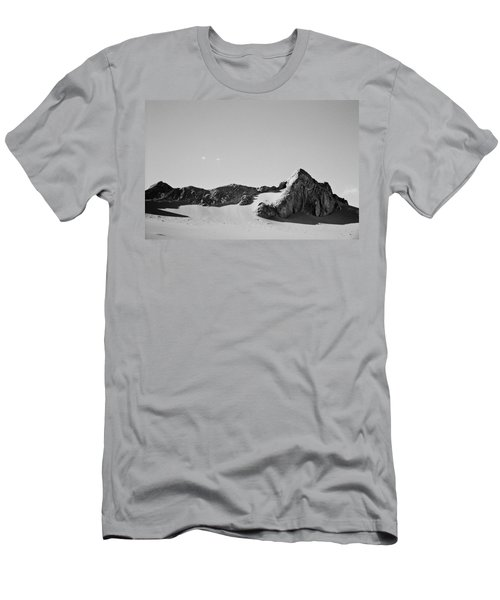Men's T-Shirt (Slim Fit) featuring the photograph Rock And Sand by Lana Enderle