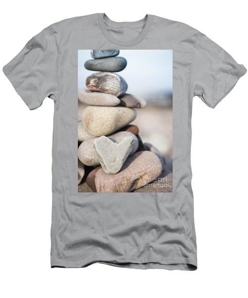 Rock Solid Love Men's T-Shirt (Athletic Fit)
