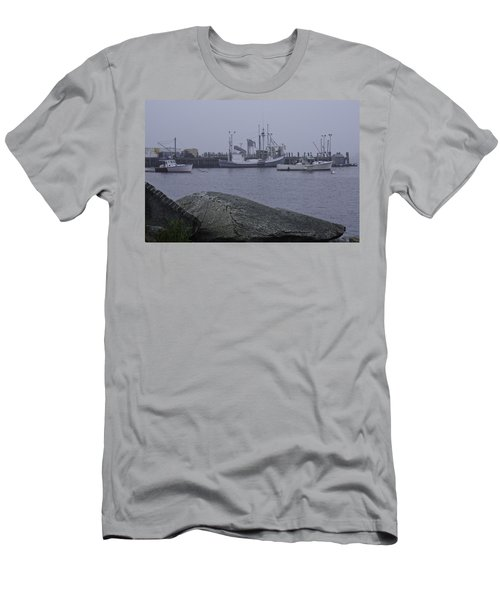 Men's T-Shirt (Slim Fit) featuring the photograph Rockland Me by Daniel Hebard