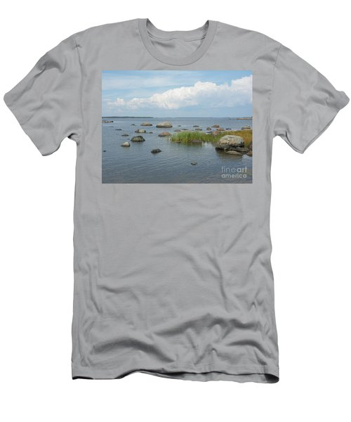 Rocks On The Baltic Sea Men's T-Shirt (Athletic Fit)