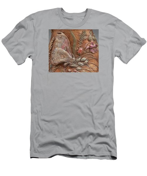 Rocky Mountain Summer - Detail Men's T-Shirt (Slim Fit) by Dawn Senior-Trask