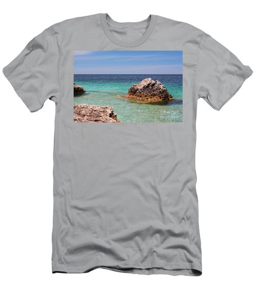 Rocky Shoals Of Tobermory Men's T-Shirt (Athletic Fit)