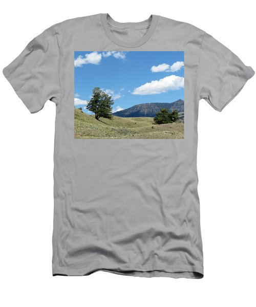 Men's T-Shirt (Slim Fit) featuring the photograph Rolling Hills by Laurel Powell