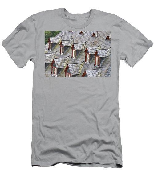 Roof Tops Men's T-Shirt (Athletic Fit)