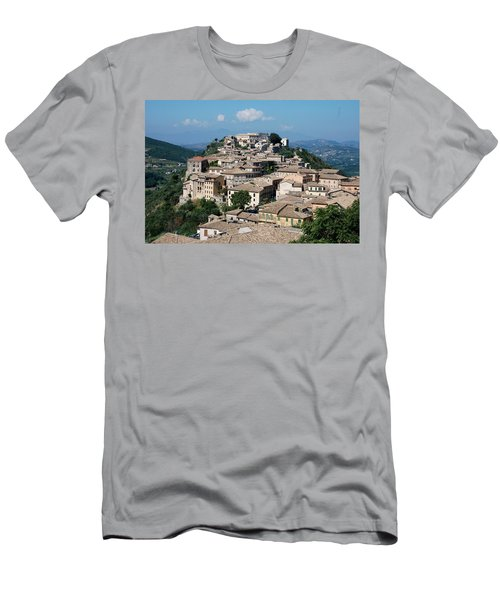 Rooftops Of The Italian City Men's T-Shirt (Athletic Fit)