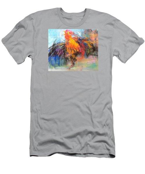Rooster Men's T-Shirt (Slim Fit) by Jieming Wang