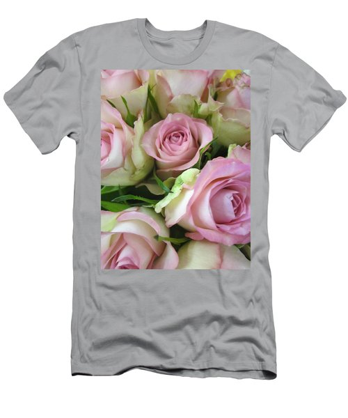 Rose Bed Men's T-Shirt (Athletic Fit)