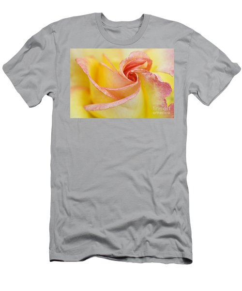 Rose Bud Opening Men's T-Shirt (Athletic Fit)