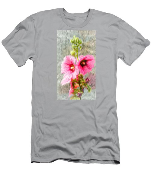 Rose Of The North Abstract. Men's T-Shirt (Slim Fit) by Ian Gledhill