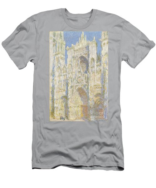 Rouen Cathedral West Facade Men's T-Shirt (Athletic Fit)