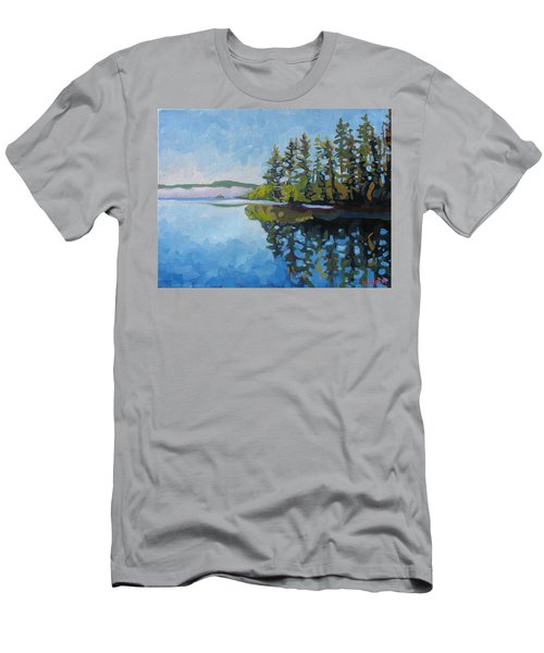 Round Lake Mirror Men's T-Shirt (Athletic Fit)