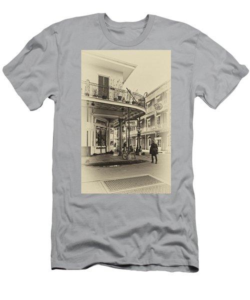 Rouses Market Sepia Men's T-Shirt (Athletic Fit)