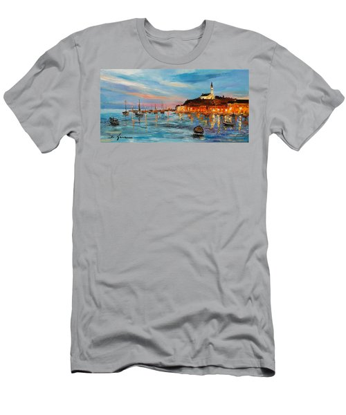 Rovanij Harbour Men's T-Shirt (Athletic Fit)